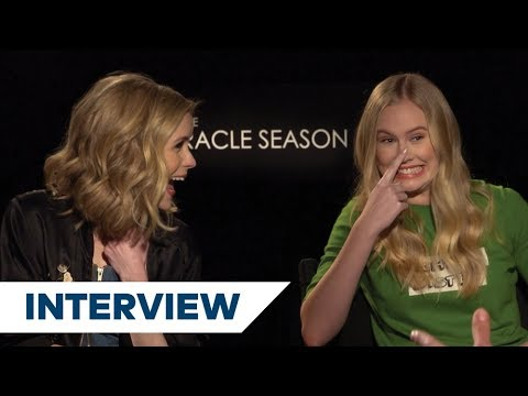 Erin Moriarty and Danika Yarosh from The Miracle Season get quizzed!