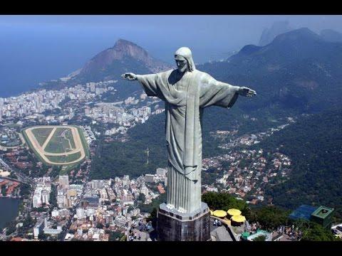 Поездка в Рио-де-Жанейро, Статуя Христа. Вид сверху на Рио. Rio De Janeiro car travel
