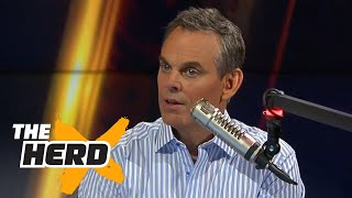 Colin explains why Manning vs Brady was the best NFL rivalry EVER | THE HERD