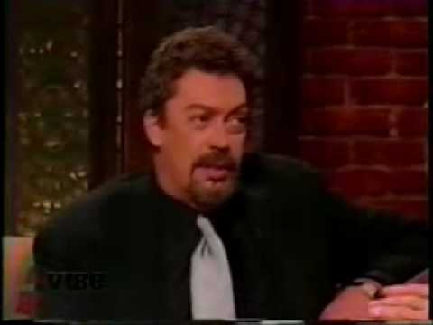 Sinbad interviewing Tim Curry