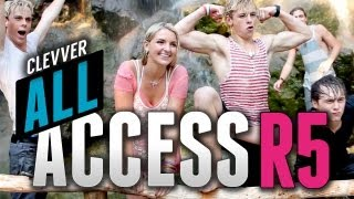 "R5 ""Pass Me By"" Music Video Behind the Scenes - Clevver All Access with R5 Episode 1"