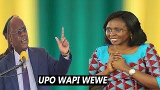 Magufuli, huyu Esta braya yuko wapi , aje hapa Kwani huyu mkandarasi ni nani...