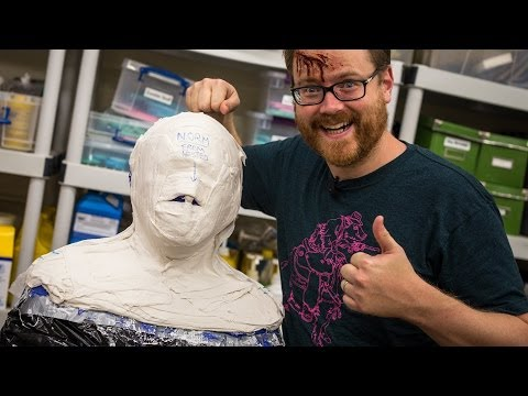 Making a Lifecast of Norm for The Zoidberg Project