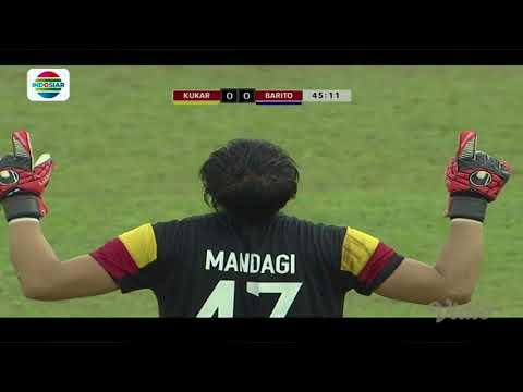 Piala Presiden 2018 : Gol Pinalti Fernando Rodriguez Mitra Kukar (1) vs Barito Putera (0)