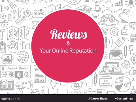 Reviews and Your Online Reputation by: @DarrenShaw via http://www.whitespark.ca