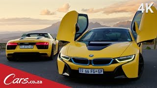 BMW i8 vs Audi R8 Spyder - The Strangest Supercar Rivalry?