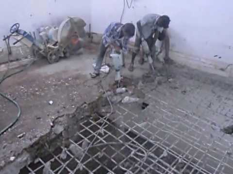 Rcc Concrete Slab Breaking Contractors Work Tritherm
