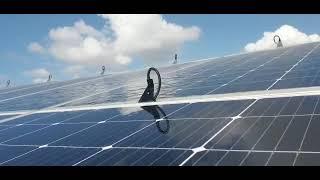 Automatic cleaning and washing solar panels ניקוי אוטומטי פאנלים סולארים