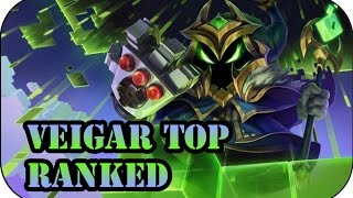 Veigar Top Ranked | League of Legends Gameplay