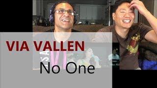Reaction - Via Vallen - No One (Lee Hi ft B.I of IKON) Koplo Ver.
