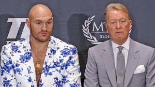 Tyson Fury * POST FIGHT PRESS CONFERENCE * vs. Tom Schwarz | MGM Las Vegas