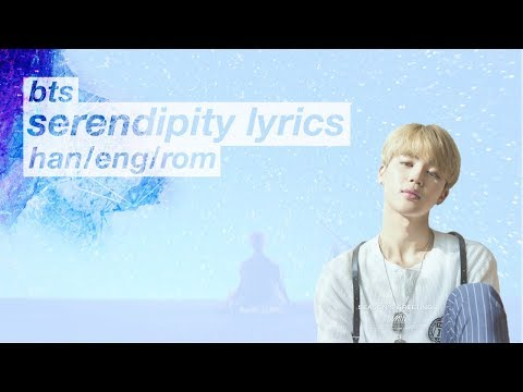 BTS (방탄소년단) Jimin – Serendipity (Color Coded Hangul/Rom/Eng Lyrics)