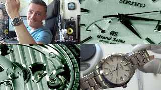 Japanese Perfection – The Grand Seiko Snowflake Spring Drive Luxury Watch Review – Ref. SBGA011