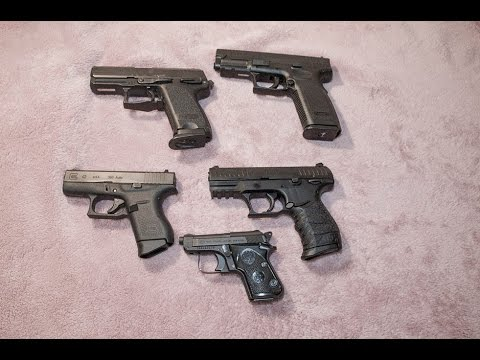 walther ccp size comparison to other pistols street cop