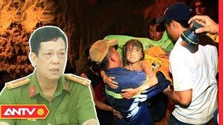 Nghẹt thở giải cứu bé gái rơi xuống khe giếng sâu 80m   NVSK   ANTV