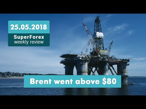 Forex Trading News. Weekly Review 25-05-2018: Prices for Brent, GDP,  the British Pound
