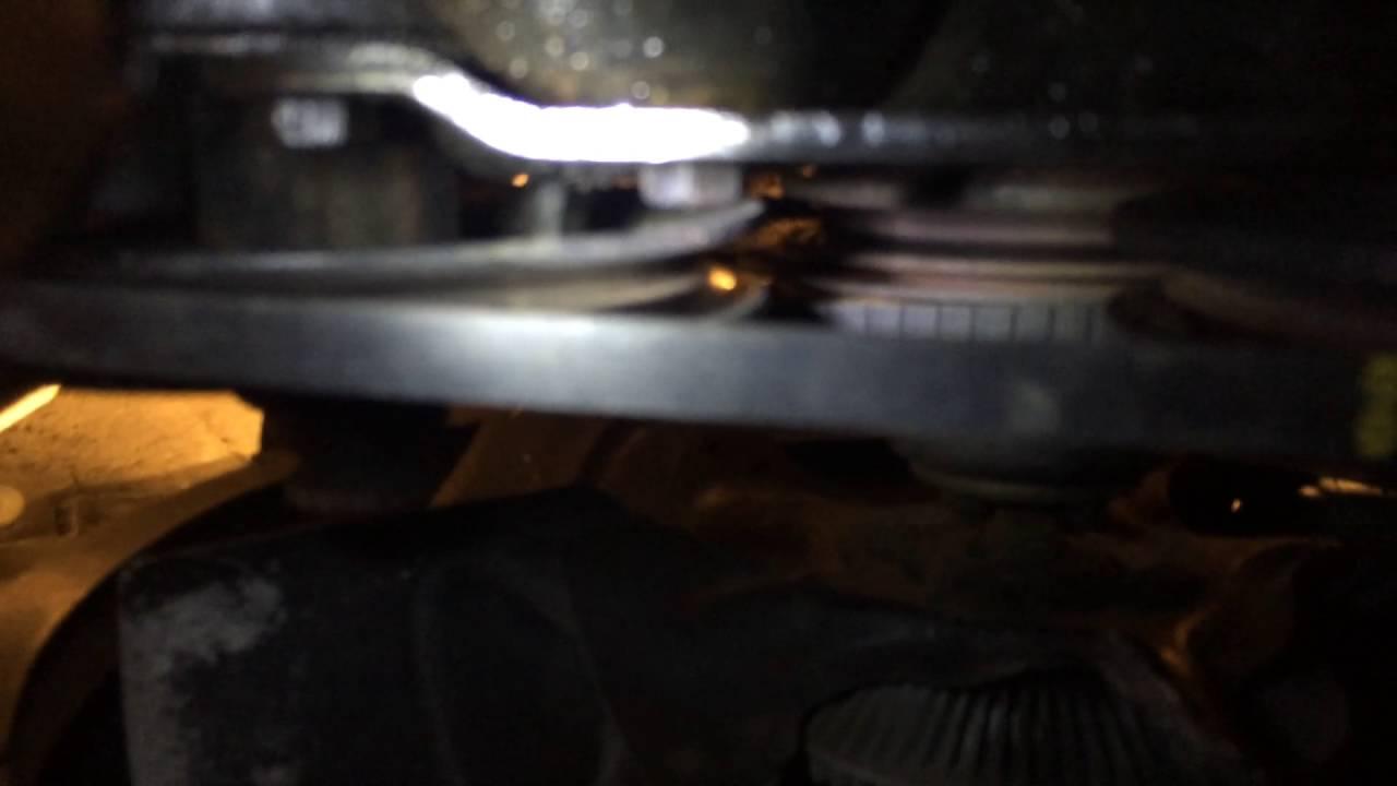 small resolution of oldsmobile 307 power steering pump belt adjustment pt 1
