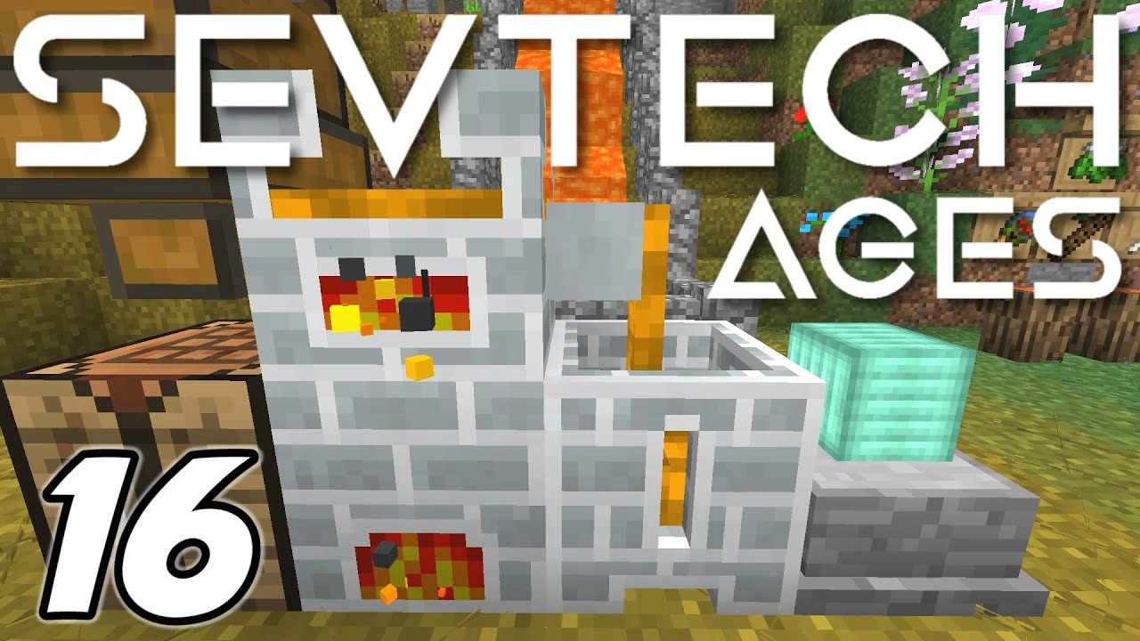 Minecraft Sevtech: Ages - SMELTING and FORGING COPPER INGOTS (Modded  Survival) - Ep  16
