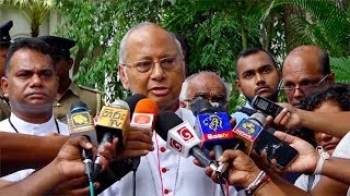 Archbishop of Colombo condemns attacks