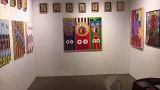 LeRoi showcases at Art Santa Fe