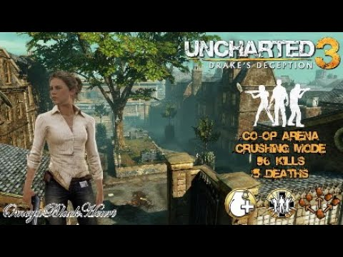 Uncharted 3: Drake's Deception- Co-op Arena Reporter Elena London Streets Crushing