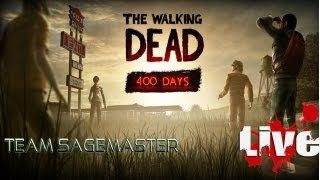 The Walking Dead Adventure Game DLC Episode: 400 Days LIVE