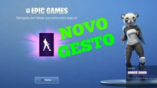 FORTNITE-ADF-TIP HOW TO GET THE NEW GESTURE FREE