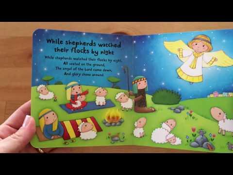 Very First Words Christmas Carols - Usborne