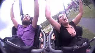 DC Rivals Hypercoaster - My first ride!