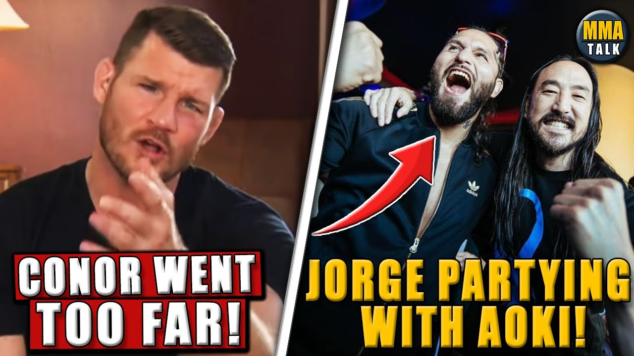 Michael Bisping CRITICIZES McGregor for recent tweets about Khabib's father,Jorge partying with Aoki