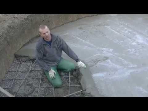 Простой совет КАК быстро и аккуратно сделать стык( холодный шов) в бетонной стяжке.