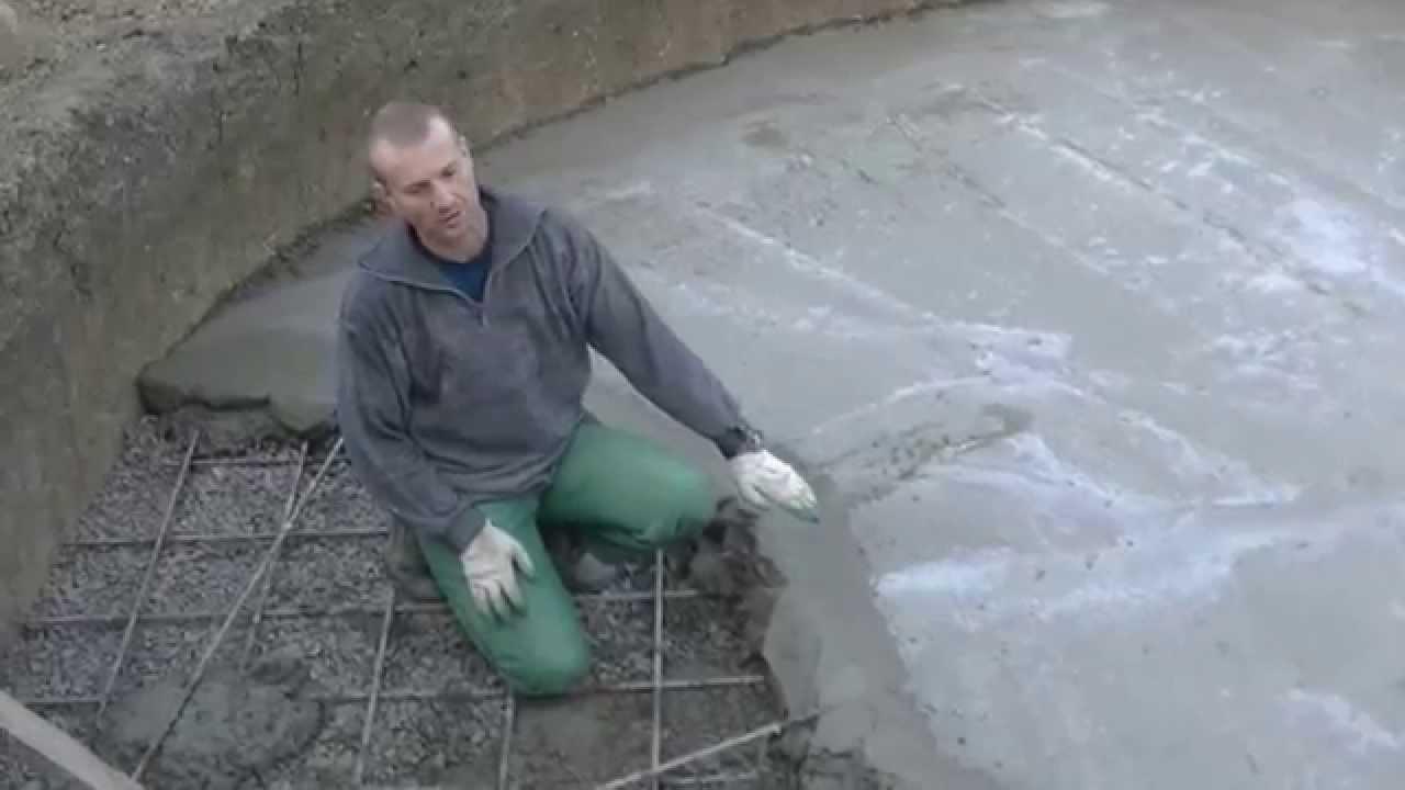 Холодный бетоны бетон на гальке