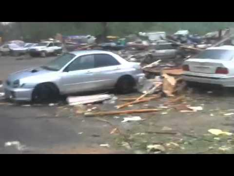 Tornado in Brimfield MA