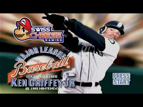 Griffey for N64 Still Holds Up Today | Major League Baseball Featuring Ken Griffey Jr. N64 Review