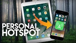 How to Connect iPad to iPhone Hotspot
