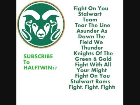 Colorado State Fight Song