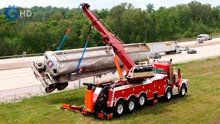 WORLD'S MOST AMAZING TOW TRUCKS YOU MUST SEE ▶  Peterbilt Century M100