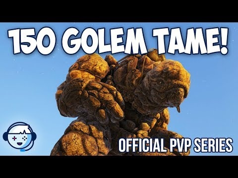 150 Rock Elemental Tame | Official PVP Series | ARK: Survival Evolved | Ep19