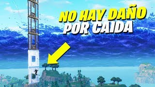 THIS TRICK CAN SAVE YOUR LIFE! *0% CAIDA DAMAGE* 😱- Fortnite Battle Royale