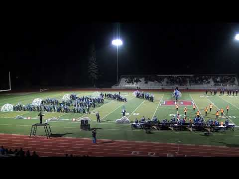 10/21/2017 Foothill High School Marching Band Dublin Show