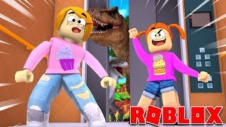 Roblox The Crazy Elevator With Baby Alive Molly And Daisy!