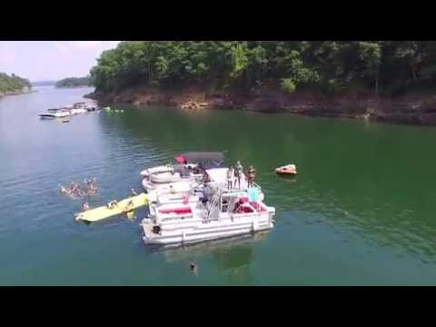 Greers Ferry Lake Arkansas Drone Flight