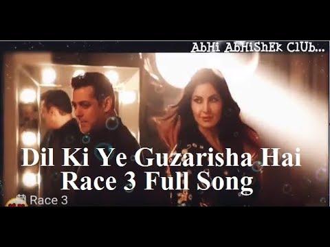 Dil Ki Ye Guzarisha Hai Race 3 Video Song. AbHi AbHiShEk ClUb.  Salman Khan, Jacqueline, Daisy Shah.