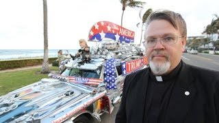 Pastor Martti gibt Gas: Unterwegs im Namen des Herrn Trump