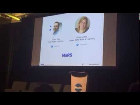 MaRS Work & Learning cluster launch