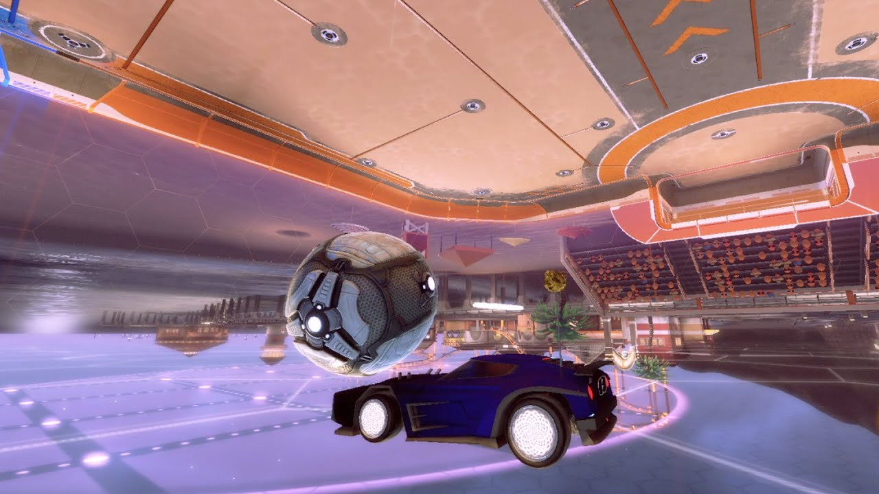 Rocket League, but something is very wrong...