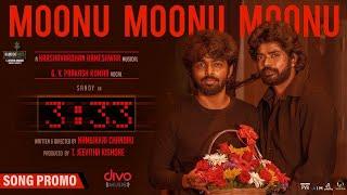 Moonu Moonu Moonu Song Promo   G. V. Prakash kumar   Harshavardhan Rameshwar