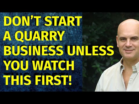 How To Start A Quarry Business | Including Free Quarry Business Plan Template