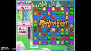 Candy Crush Level 422 Audio Talkthrough, 3 Stars 0 Boosters