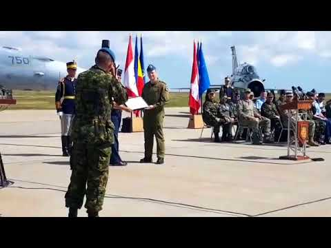 Royal Canadian Air Force (RCAF) Certification Ceremony  M.K Air Base